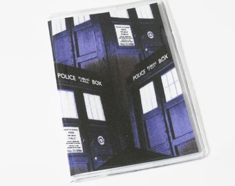Passport Cover Dr Who Tardis