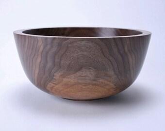 Wild Black Walnut Wooden Bowl #1510