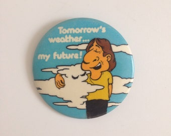 Vintage pinback button