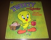 Tweety and Sylvester Picnic Problems 1970 Warner Bros Hardback Whitman Book USA