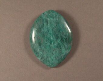 Green Bloodstone Marquis shape Pendant Focal bead
