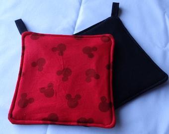 Mickey Mouse Red Kitchen Potholder Potholder
