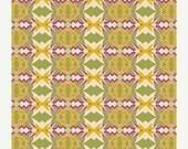 ON SALE - Tribal Foliage BOH-606 - Bohemian Soul - Art Gallery Fabrics - Patricia Bravo - By the Yard