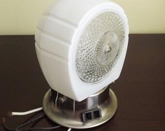 Industrial Light Globe, Exterior Light Fixture Cover, Vintage White Glass Wall Mount Light Globe Shade, Retro Glass Light