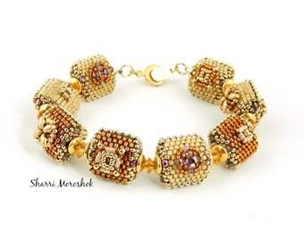 Beaded Bead Bracelet by Sharri Moroshok