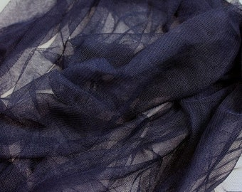 NAVY BLUE Nylon TULLE - Available in Over 35 Colors!