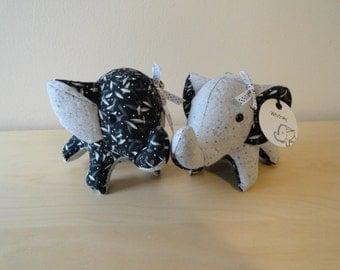 Tiny Stuffed Best Friends Elephants- Britney and Whitney