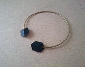 Minimalist Necklace- Geometric Necklace, 3d