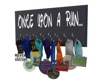 Running medals holder - holder for medals - medals holder - running medals holder - once upon a race - run disney