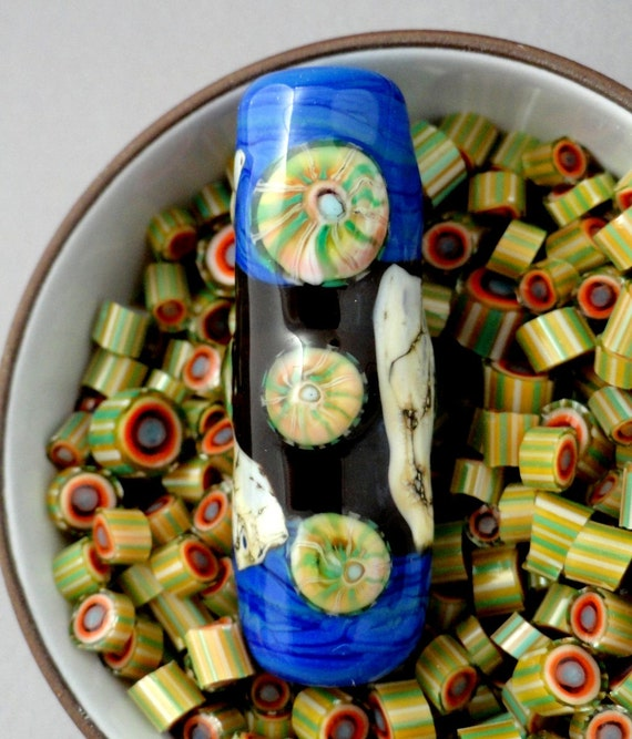 Basket Weaving Supplies Sacramento : Murrini chips coe honey swirl lampwork supplies