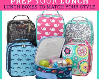 Personalized Lunch Totes - Cute New designs!