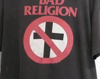 Vintage 90s Bad Religion tee