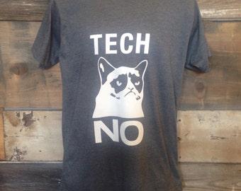TECH NO tee shirt
