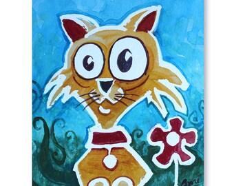 Minou en catty mini