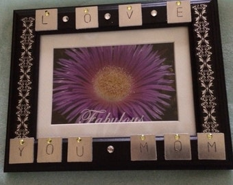 Love You Mom Frame 5x7