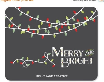 Christmas Lights Clip Art includes strands in White and in Green- Blog Graphics - Instant Download