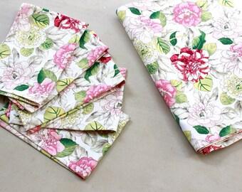 Dinner Napkins - Cloth Napkins - Birhtday/Wedding - Home/Kithchen Linens