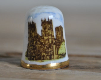 Vintage - China thimble - York Minster