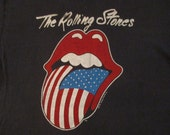 ROLLING STONES 1981 tour T SHIRT