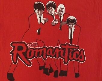 THE ROMANTICS 80s promo T SHIRT