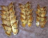 Vintage metal wall butterflies, group of 15   C2-386-3