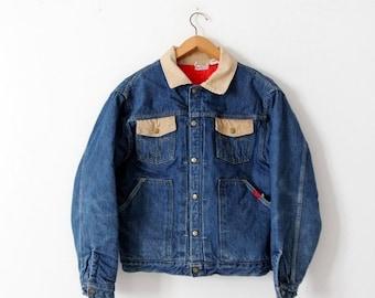 SALE vintage Buckaroo by Big Smith denim jacket, 50s barn coat