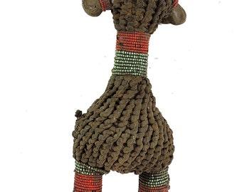 Beaded Fertility Doll Bone Guinea African Art 102956