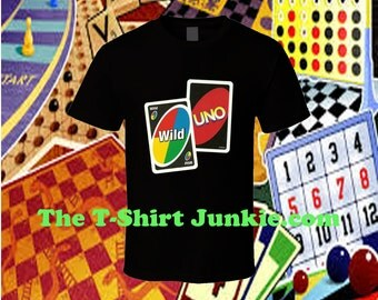 Uno Card Game Wild One T Shirt