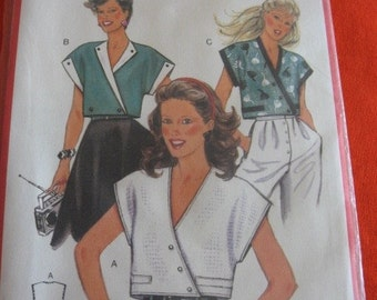 Burda 6998 blouse pattern sizes 8-16, unopened