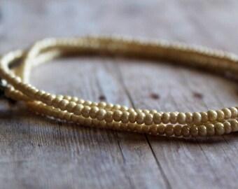 Tiny Bead Bracelet, Stacking Bracelet, Layered Bracelet, Wrap Bracelet Beaded Bracelets, Simple Bracelet, Everyday Bracelet, Bead Bracelet