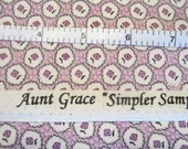 Aunt Grace Simpler Sampler Reproduction, Judie Rothermel, Marcus