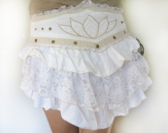 Festival Lotus Bustle Belt Skirt Wrap