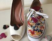 Minnie sparkle shoe clips 1 pair your choice