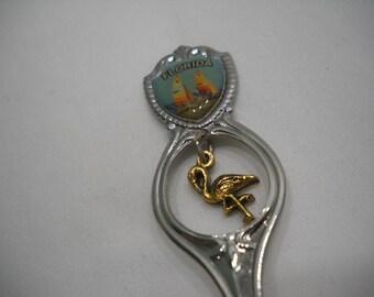 Florida Collectible Souvenir Spoon With Pelican