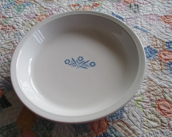 Vintage Corning Ware Pie Plate - 9 Inch - Made In USA