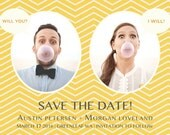 thought bubble save the date, Save the date postcards, Save the date cards, Save the date magnets, Save the date invitations, Save the dates