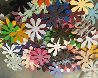 150 Mini paper flowers