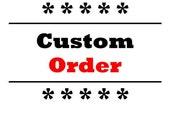 Custom Labels - 100 each - Gold Foil