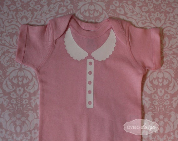 Prim and Proper Faux Peter Pan Collar with Faux Pearl Buttons Pick your Colors