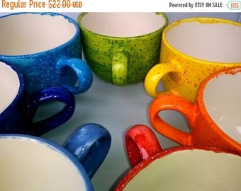 On Sale Jumbo Soup Mug Handmade Ceramic 22 oz