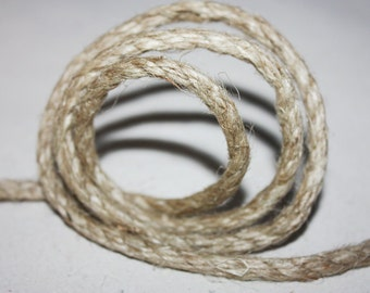 5 mm Jute Cord Natural - 1 Spool = 22 Yards = 20 Meters - Jute Rope, Jute Cord, Natural Fiber Rope, Jute Cord Rope, Burlap String Cording
