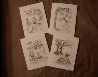 Four Seasons: Notecard Variety Set
