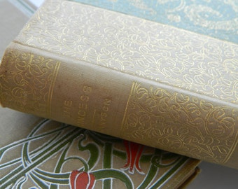 The Princess by Tennyson. little antique book from 1891.