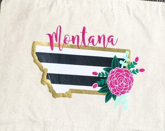 Montana or Missoula Market Tote