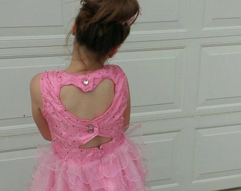 Precious Pink Heart Gown
