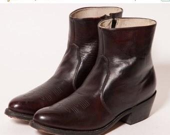 30% OFF DURANGO Maroon Beatle Boots Size 10 D