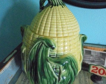 Vintage Stanfordware corn cookie jar