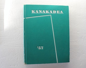 Vintage Yearbook / Kanakadea 1957 Alfred University New York / Photos / College Yearbook / Old Used Yearbooks / Alumni