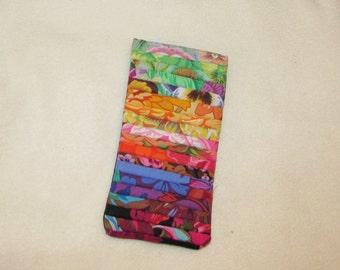 Kaffe Fassett Sunglasses/IPhone Case 7x3 inches