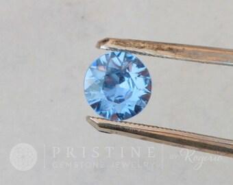 Ceylon Blue Sapphire Round Shape 7.4 MM September Birthstone for Jewellery